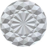 White 3d geometric texture background. Vector. White 3d geometric texture background. Round abstract circle. Good for design. Vector Stock Images