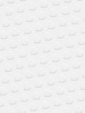 White 3D hearts on white background Royalty Free Stock Images