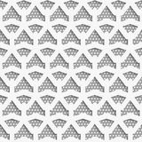 White 3d net on textured white and gray pattern Royalty Free Stock Images