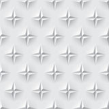 White 3d seamless texture Stock Photography