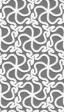White 3d wavy pattern Royalty Free Stock Photo
