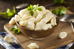 White Dairy Cheese Curds Stock Photography