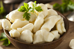 White Dairy Cheese Curds Stock Image