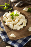 White Dairy Cheese Curds Stock Photos