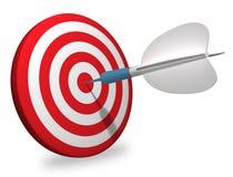 White dart Stock Image