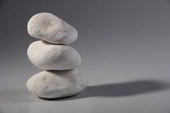 White decoration  stones Stock Images