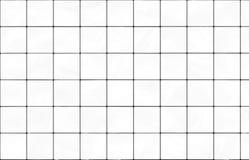 White decorative ceramic tiles Stock Photos