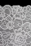 White decorative lace with pattern Stock Photography