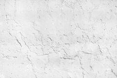 White plaster wall texture Royalty Free Stock Photos