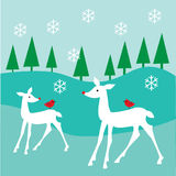 White Deer Royalty Free Stock Images