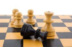 White defeats black Stock Image