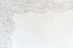 White Delicate satin background Royalty Free Stock Image