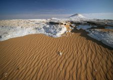 White Desert. Stock Images