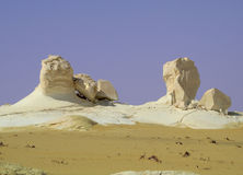 White desert in Egypt(1) Royalty Free Stock Images