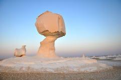White desert in Egypt Stock Images