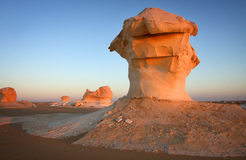 White Desert, Egypt Royalty Free Stock Images