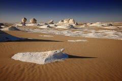White Desert in Egypt Royalty Free Stock Photography
