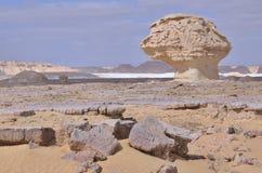 White Desert, Egypt Stock Photography