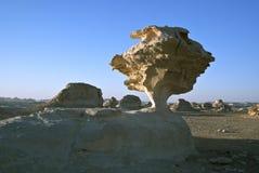 White Desert Formations Stock Photos