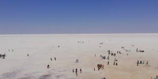 White Desert royalty free stock photography