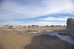 White desert landscape Stock Images