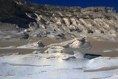 White desert landscape. Royalty Free Stock Image