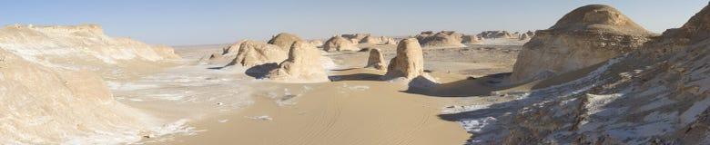 White desert mountains Stock Photos