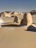 White desert mountains Stock Image