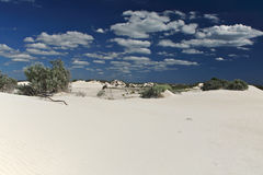 White Desert,Nambung National Park,South Western Royalty Free Stock Image