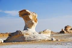 White desert, Sahara Stock Image