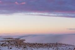 White desert Royalty Free Stock Images