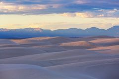White desert Stock Photos