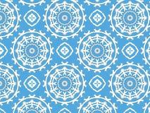 White design on blue stock illustration