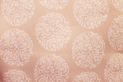 White Design on Pink Texture Background Royalty Free Stock Images