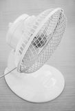 White desk fan Royalty Free Stock Photo