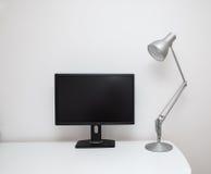 White Desk Royalty Free Stock Image