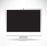 White desktop computer Royalty Free Stock Photo