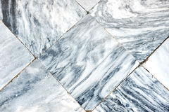 White detail marble tiles floor,texture background. Stock Photo