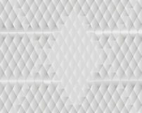 White diamond background. Polygon with white diamond background royalty free illustration