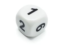 Free White Dice Royalty Free Stock Photo - 11025795