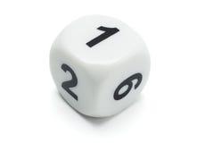White dice Royalty Free Stock Photo