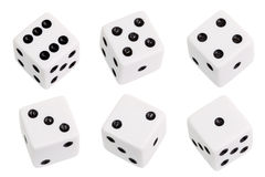 Free White Dice Stock Images - 47097884