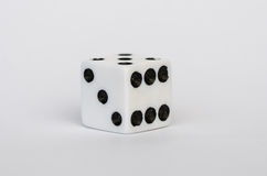 White dice Royalty Free Stock Photos