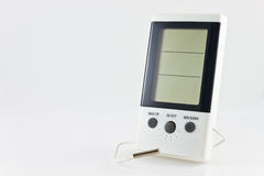 Free White Digital Hygrometer Stock Photography - 18891692