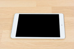 White digital tablet Stock Images