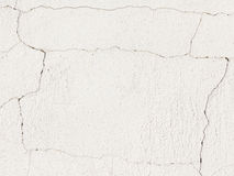 White dilapidated wall Royalty Free Stock Photography