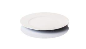 White Dinner Plate I Royalty Free Stock Images