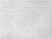 White dirty brick wall Stock Images