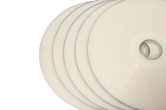 White Discs Royalty Free Stock Photography