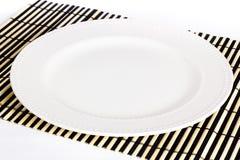 White Dish Royalty Free Stock Photo
